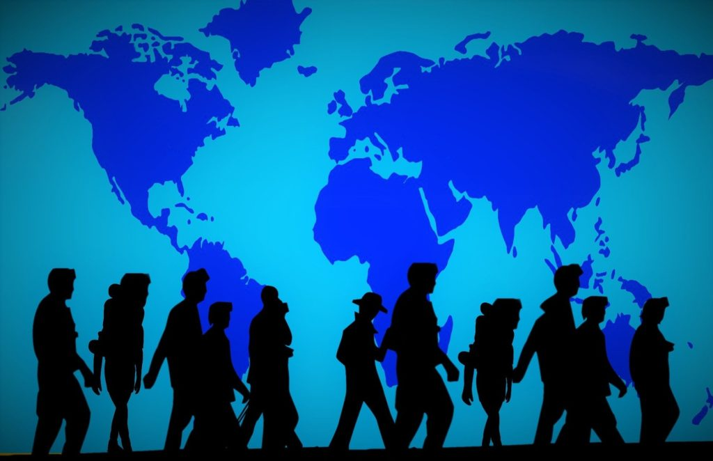 Migration due to social and political factors
