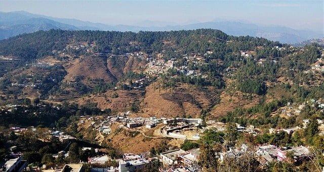 Almora region of Uttrakhand