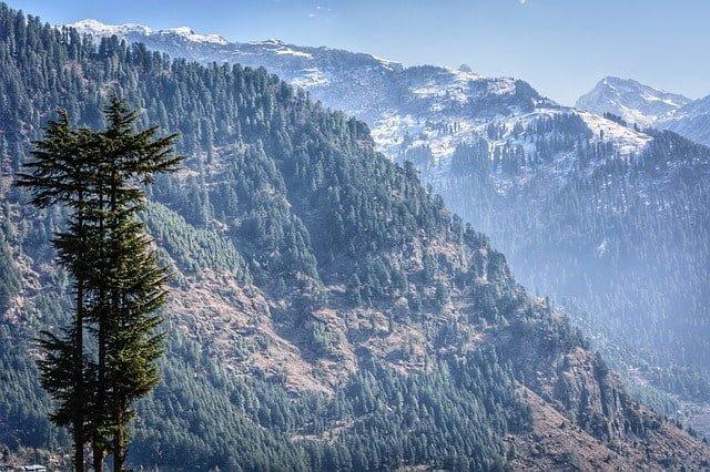 Manali region of Himalayas