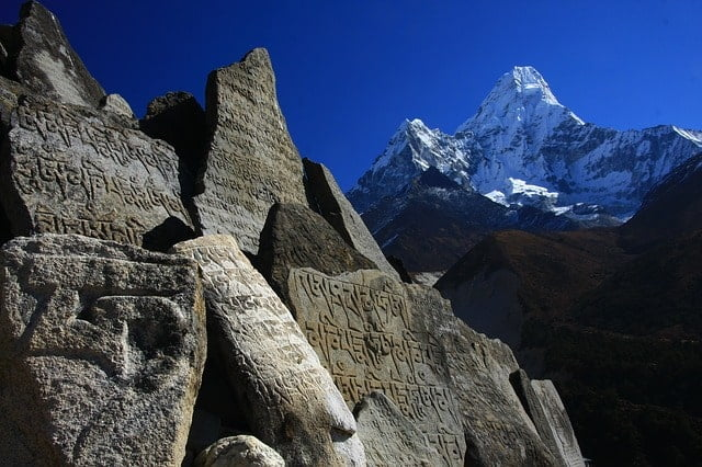Himalayas in Nepal