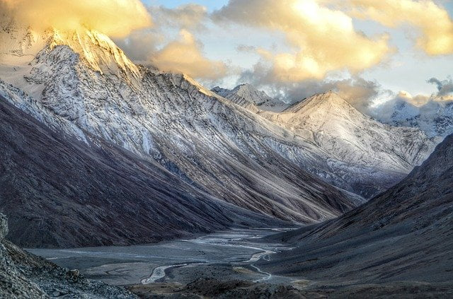 Spiti region of Mountain Himalaya