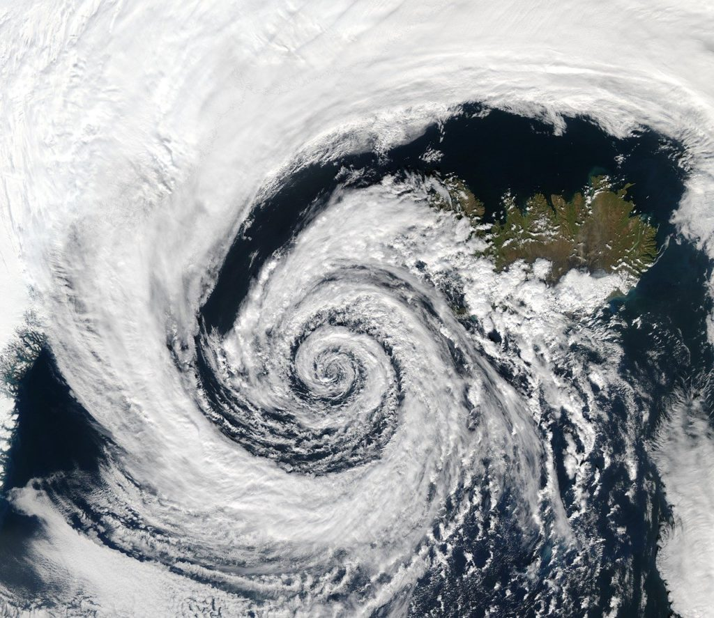How temperate cyclones get formed