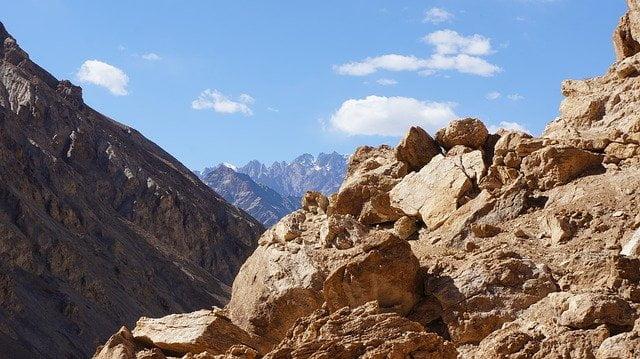Ladakh Region of Himalaya
