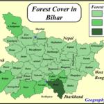 bihar forest map